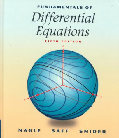 9780201338683: Fundamentals of Differential Equations