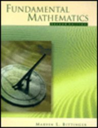 9780201338775: Fundamental Mathematics (2nd Edition)