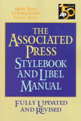 9780201339857: The Associated Press Stylebook and Libel Manual