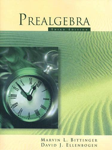 9780201340242: Prealgebra (3rd Edition)