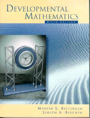 9780201340273: Developmental Mathematics/TASP (5th Edition)