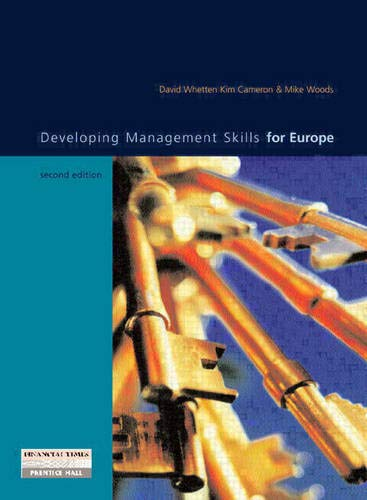 9780201342765: Developing Management Skills for Europe