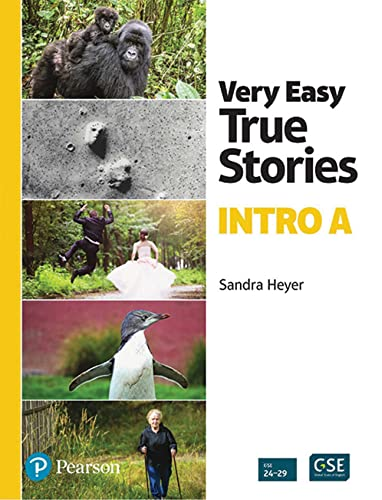 9780201343137: Very Easy True Stories: A Picture-Based First Reader
