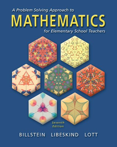 9780201347302: A Problem Solving Approach to Mathematics for Elementary School Teachers (7th Edition)