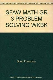 9780201348842: SFAW MATH GR 3 PROBLEM SOLVING WKBK
