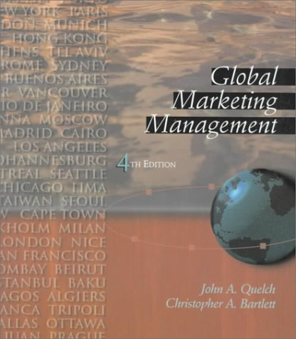 9780201350623: Global Marketing Management (4th Edition)