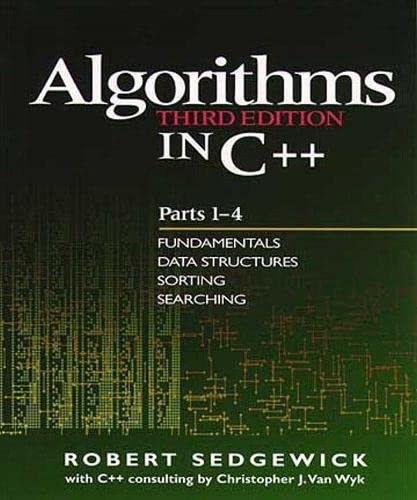 9780201350883: Algorithms in C++, Parts 1-4: Fundamentals, Data Structure, Sorting, Searching, Third Edition