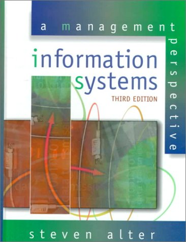 9780201351095: Information Systems: A Management Perspective (3rd Edition)
