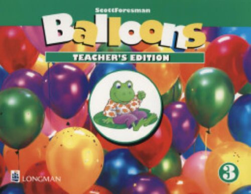 9780201351279: Balloons Level 3: Teacher's Guide 3 (ScottForesman)