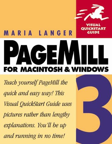 9780201354430: Pagemill 3 for Macintosh and Windows (Visual QuickStart Guide)