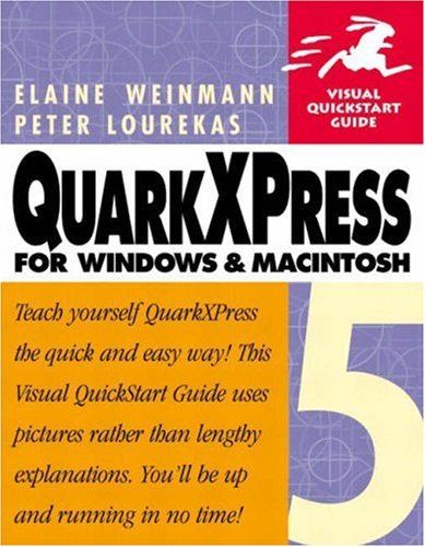 9780201354911: Quarkxpress 5 for Windows and Macintosh