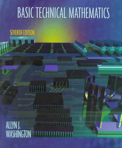 9780201356649: Basic Technical Mathematics (7th Edition)