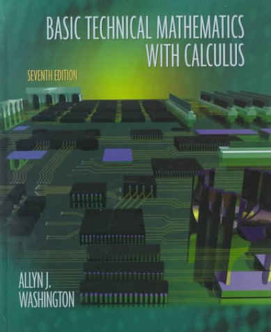 9780201356656: Basic Technical Mathematics with Calculus (7th Edition)