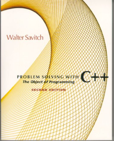 9780201357493: Problem Solving With C++: The Object of Programming