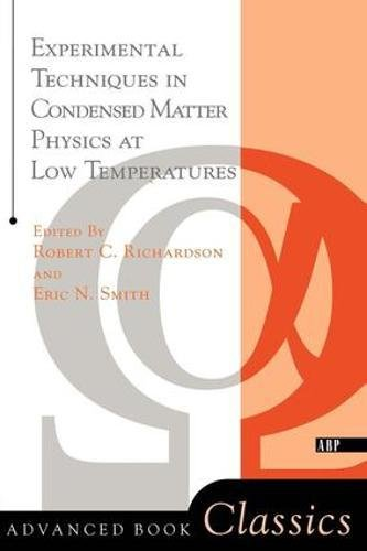 Experimental Techniques In Condensed Matter Physics At: Smith, Eric N.,Richardson,
