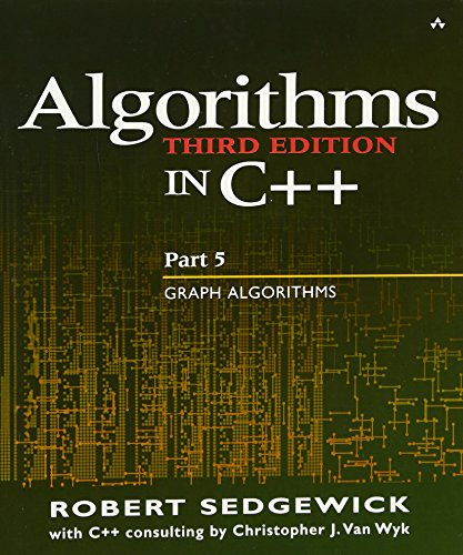 9780201361186: Algorithms in C++ Part 5: Graph Algorithms (3rd Edition) (Pt.5)