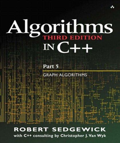 9780201361186: Algorithms in C++ Part 5: Graph Algorithms (3rd Edition) (Pt.5)