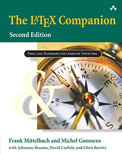 9780201362992: The LaTeX Companion (Addison-Wesley Series on Tools and Techniques for Computer T)