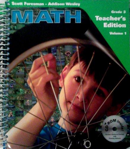 9780201364248: Math: Grade 3 (The Millennium Edition, Volume 1) (Unknown Binding)