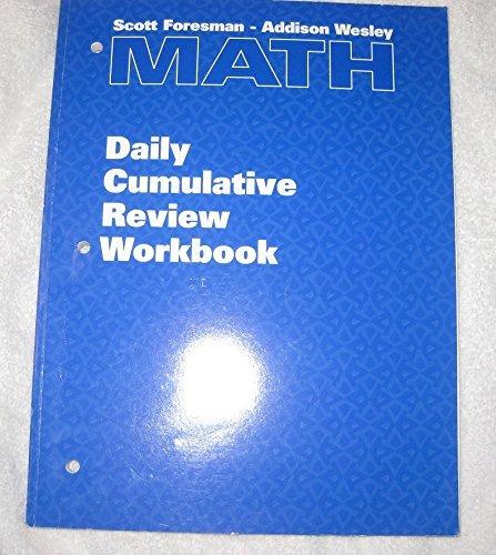 9780201369120: SFAW MATH GR5 DAILY CUMULATIVE REVIEW WKBK