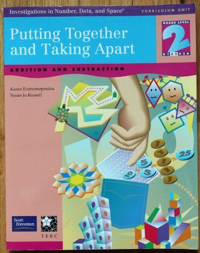 9780201378184: Putting Together and Taking Apart Addition and Subtraction Grade Level 2