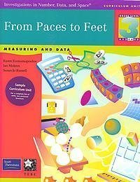 9780201378245: From Paces to Feet, Grade 3 (Investigations in Number, Data, and Space)