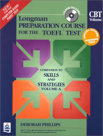 9780201379082: Longman Preparation Course for the Toefl Test: Cbt Volume: CD-Rom/Book Package (Book & Cdrom)