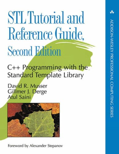 9780201379235: STL Tutorial and Reference Guide: C++ Programming with the Standard Template Library (2nd Edition)