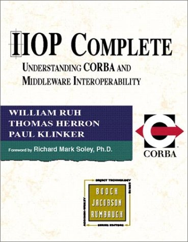 9780201379259: IIOP Complete: Understanding CORBA and Middleware Interoperability
