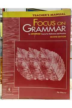 9780201383133: Teacher's Manual, Focus on Grammar: An Advanced Course for Reference and Practice, Second Edition (L