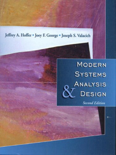 9780201383690: Modern Systems Analysis and Design 7.3.4