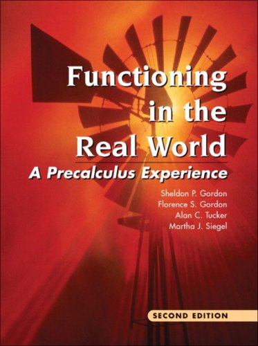 9780201383898: Functioning in the Real World: A Precalculus Experience (2nd Edition)