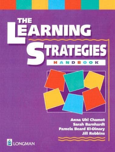 9780201385489: Learning Strategies Handbook