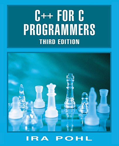 9780201395198: C++ For C Programmers, Third Edition