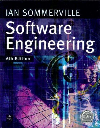 9780201398151: Software Engineering (International Computer Science Series)