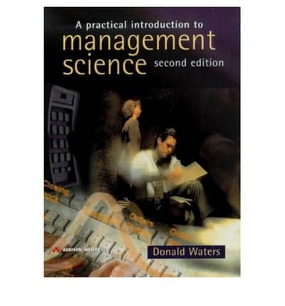 9780201398168: Practical Introduction to Management Science
