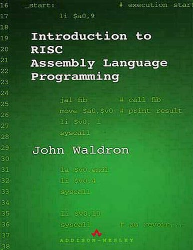 9780201398281: Introduction to RISC Assembly Language Programming