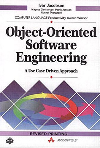 9780201403473: Object-Oriented Software Engineering: A Use Case Driven Approach