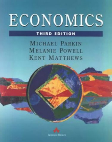 9780201403732: Economics European Third Edition
