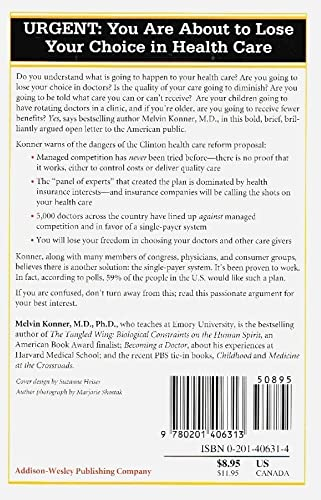9780201406313: Dear America,: A Concerned Doctor Wants You to Know the Truth About Health Reform