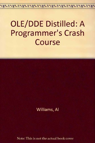 9780201406399: Ole 2.0 and Dde Distilled: A Programmer's Crash Course