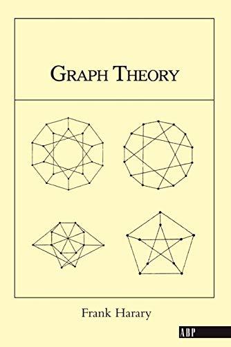 9780201410334: Graph Theory (on Demand Printing Of 02787) (Advanced Book Program)