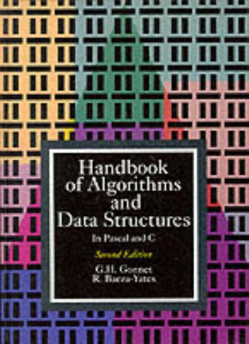 9780201416077: Handbook of Algorithms and Data Structures in Pascal and C