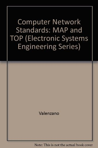 9780201416657: Map and Top Communications: Standards and Applications (Electronic Systems Engineering Series)