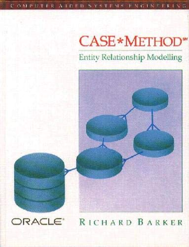 9780201416961: Case Method: Entity Relationship Modelling (Computer Aided Systems Engineering)