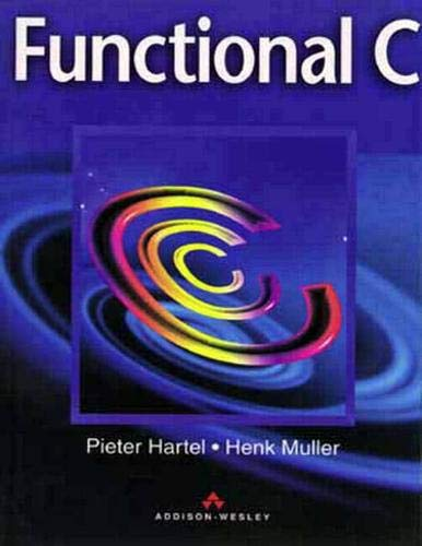 9780201419504: Functional C. (International Computer Science)