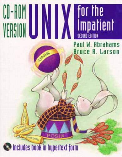 9780201419795: Unix for the Impatient, CD-ROM Version