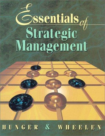 9780201421866: Essentials of Strategic Management