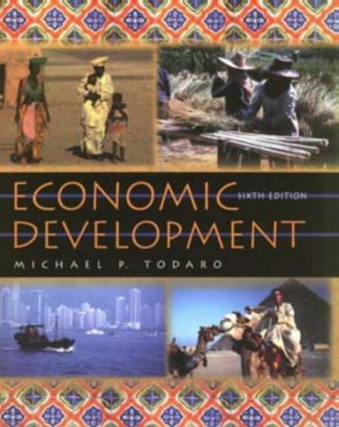 9780201421873: Economic Development