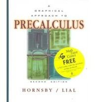 9780201422597: A Graphical Approach to Precalculus